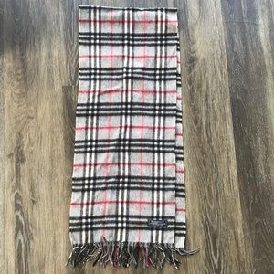 Burberry Cashmere Lambswool Scarf